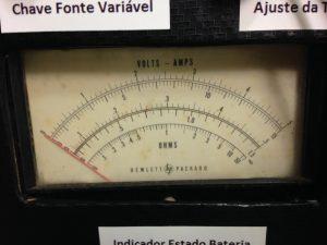 Aspecto do instrumento que fiz a calibração